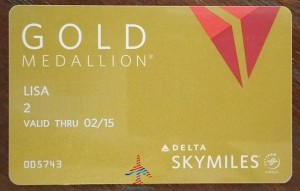 real delta gold medallion card renes points blog