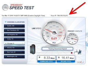 really slow vpn speed at crown plaze chi wifi