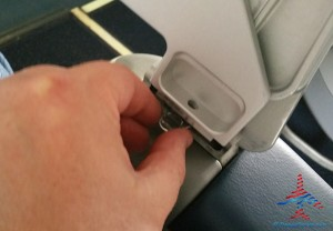 FA tip on how to fix a broken tray table that sags delta renespoints blog 4