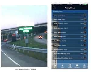 iflyATL app for parking Atlanta