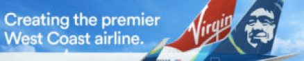 Alaska Airlines Virgin America Merger laptoptravel Website Banner