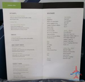 Delta 777 jfk to nrt renespoints blog review menu (3)