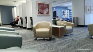 Delta DFW SkyClub E11 Seating (8)