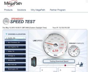 Delta Gogo satilite wifi speed while over the usa renespoints blog