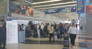 Delta ORD TSA standard check point after 5PM on a thursday RenesPoints blog