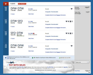 Dallas DFW - San Francisco SFO DL Aug 2016 Book