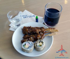 Delta Sky Club NRT Narita Airport near Gate 15 RenesPoints blog Review (23)