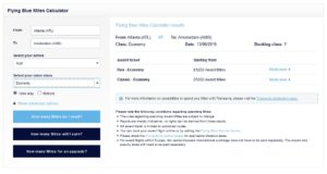 example one way atl to ams klm upgrade