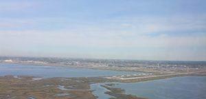 landing in JFK