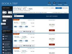 the price when you click on delta-dumb