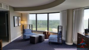 Hyatt Regency Lisle Naperville Suite Review RenesPoints travel blog Diamond Guest (10)