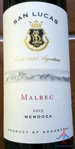 San Lucas Malbec Mendoza 2015 WSJwines AMEX SYNC offer RenesPoints blog (1)