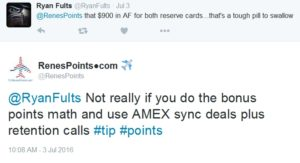 tweet about value of sync deal on 3 july