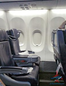 AeroMexico Skyteam 737-800 business class seat review and dinner RenesPoints travel blog (6)
