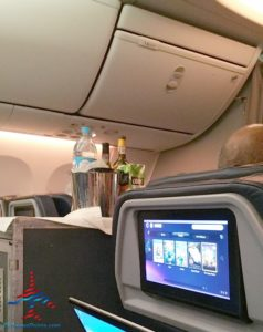 AeroMexico Skyteam 737-800 business class seat review and dinner RenesPoints travel blog (8)
