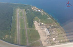 SDQ Airport runway RenesPoints Travel Blog