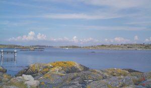 amazing swedish coastline