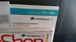 AeroMexico 737-700 mex-mco review business class renespoints blog (1)