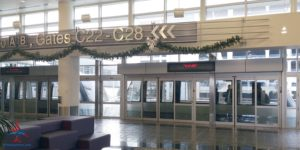 Minneapolis MSP Delta Sky Club C gates RenesPoints Blog Review (1)