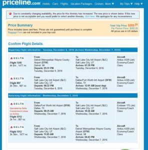 priceline-coach-to-dfw