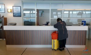 The Priority Pass Executive lounge review at SXM St Maarten RenesPoints Travel blog review (3)
