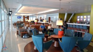 The Priority Pass Executive lounge review at SXM St Maarten RenesPoints Travel blog review (6)