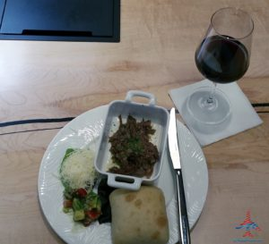 The hidden AMEX Centurion Lounge - The Centurion Lounge is located in Terminal D and is accessible via the elevator located in the Duty Free Shop near gate D6 - RenesPoints blog review (26)