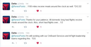 delta upgrades meals to round the clock