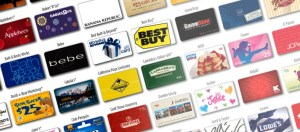 lot of gift cards