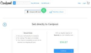 sell best buy gift card on cardpool get amazon cash renespoints