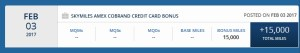 bonus skymiles 15000 for amex spend renespoints blog