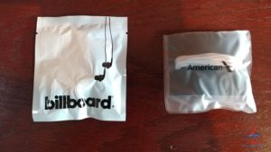 review Delta Billboard headphones vs Amerian headphones in first class renespoints blog (1)