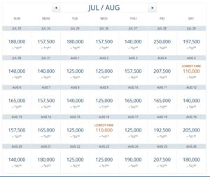 deltaone atl to ams aug