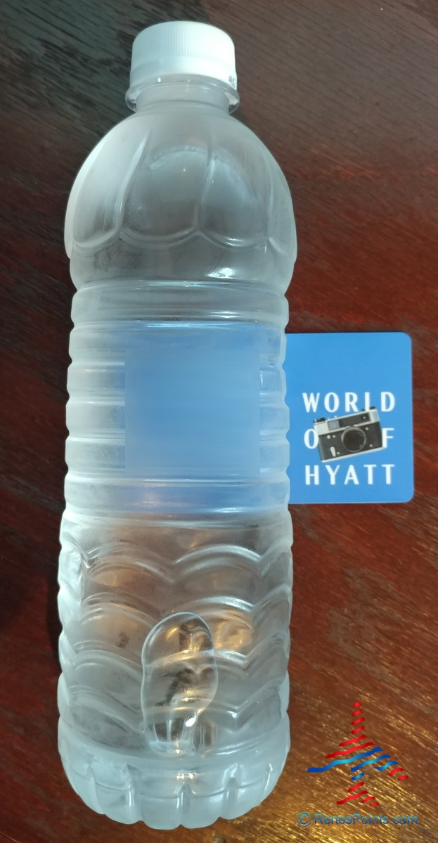 high quality H20 for being a HYATT elite WaterBoardist