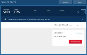 you can not choose a seat on delta when they are changing your plane type schedule change saturday renespoints blog final