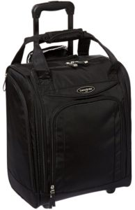roll aboard bag that will fit on a crj200 from samsonite