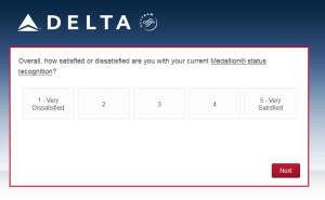 New Delta Air Lines SkyMiles survey for 250 SkyMiles - how would you vote (12)