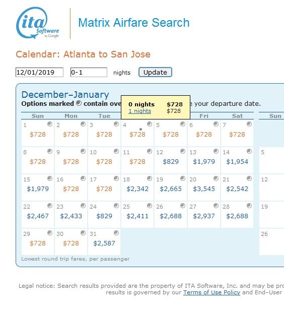 Atlanta to San Jose (Costa Rica) $728 Business Class Delta / AeroMexico Weekend HUB Elite Mileage Run 8094MQMs at 9CPM