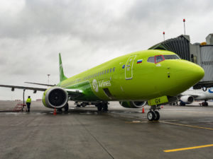 New Boeing 737 MAX 8, VQ-BGV, operated by S7 Airlines in Pulkovo International Airport, Saint-Petersburg, Russia. 11 November 2018. (Photo credit: ©iStock.com/AVZimovskoy)