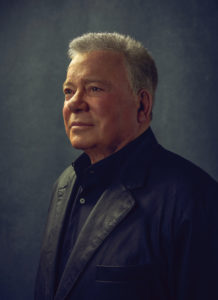 Actor William Shatner, who tweeted about René's Points travel blog!