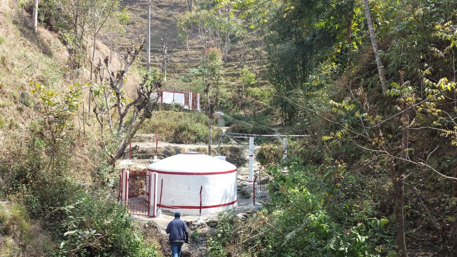 Naram Gaun, one of the SMUS projects in Nepal