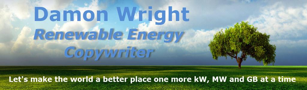 Renewable Energy Copywriting Services