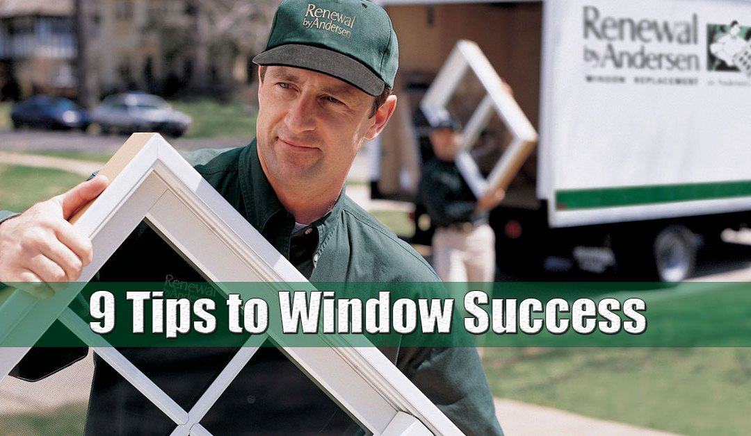 Replacement Window Tips Long Island