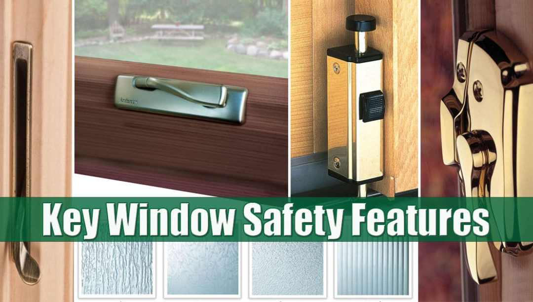 Replacement window safety features Long Island