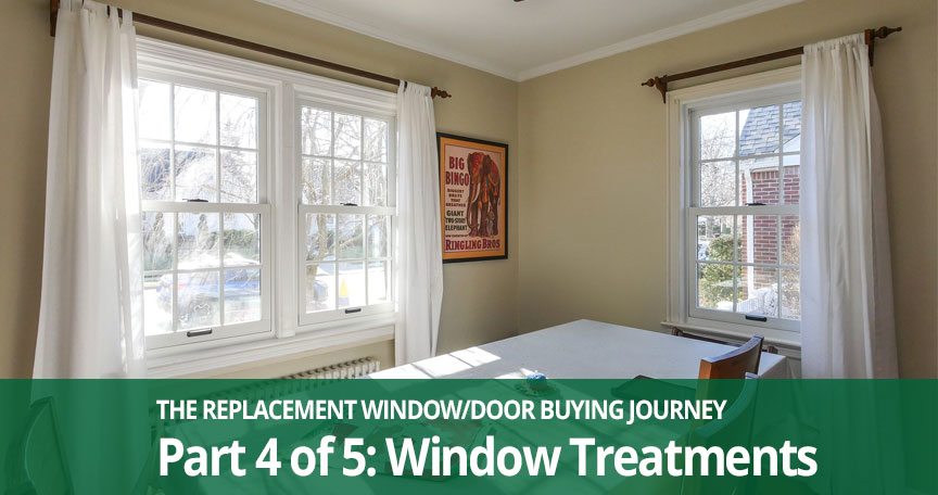 replacement window treatments Long Island, NY