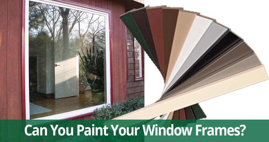 can you paint replacememt windows Long Island, NY