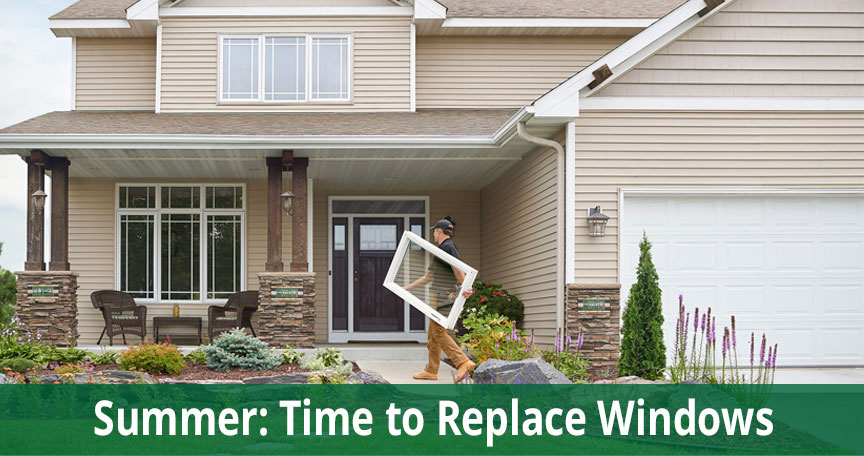 replacement windows summer Long Island NY