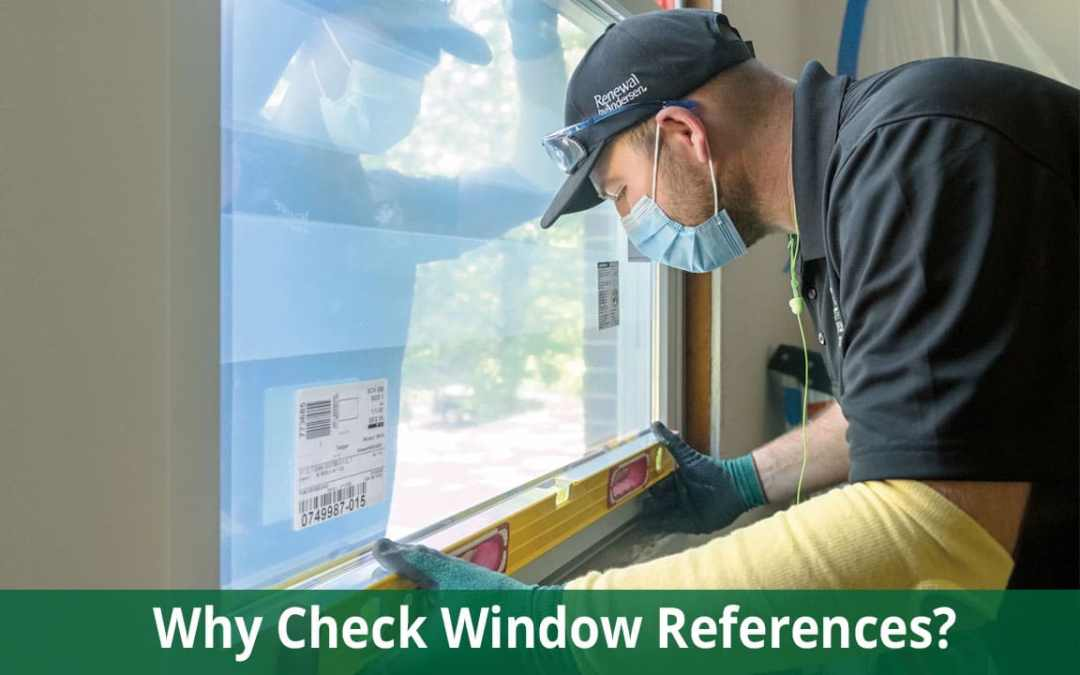 replacement window installer references