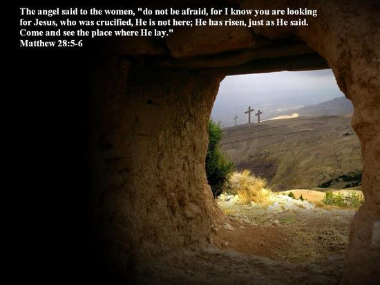 Easter Sunday from inside