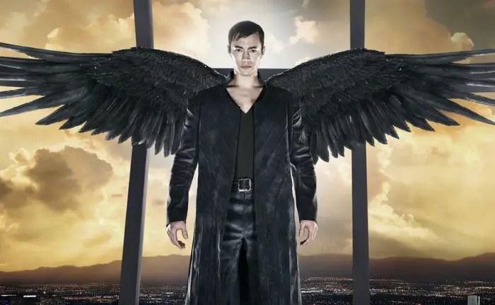 DOMINION -- Season:1 -- Pictured: Tom Wisdom as Archangel Michael -- (Photo by: Gavin Bond/Syfy)